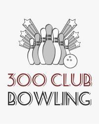 300 Club Bowling   Obraz na stenu