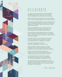 Desiderata Abstract Geometric Background | Obraz na stenu