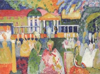 Ladies in Crinolines, 1909 | Obraz na stenu