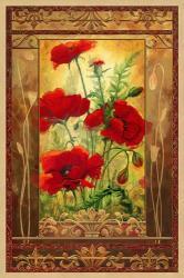 Poppy Field II In Frame | Obraz na stenu