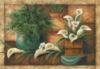 Vessels And Callas | Obraz na stenu