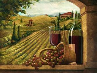 Vineyard Window | Obraz na stenu