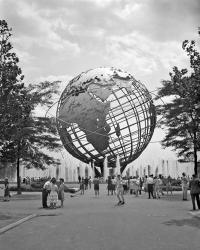 1964 New York World's Fair Unisphere Flushing Meadows NY | Obraz na stenu