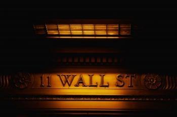 11 Wall St. Building Sign | Obraz na stenu