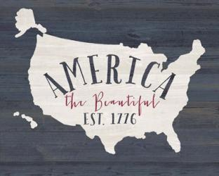 America the Beautiful   Obraz na stenu