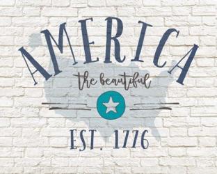 America Brick | Obraz na stenu