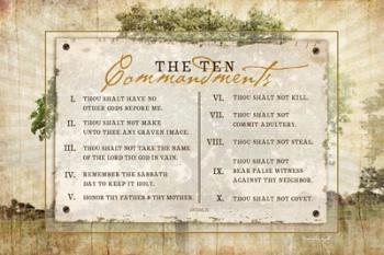 10 Commandments | Obraz na stenu