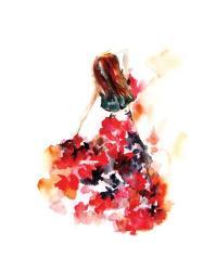 Beauty in Red | Obraz na stenu