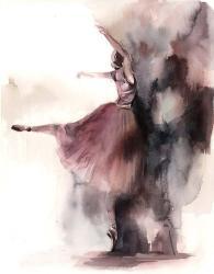 Ballerina Bliss III | Obraz na stenu