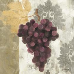 Acanthus and Paisley With Grapes  I | Obraz na stenu