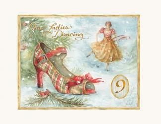 12 Days of Christmas IX | Obraz na stenu