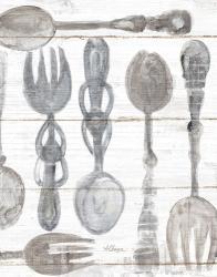Spoons and Forks III Neutral | Obraz na stenu