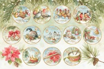 12 days of Christmas XIII | Obraz na stenu