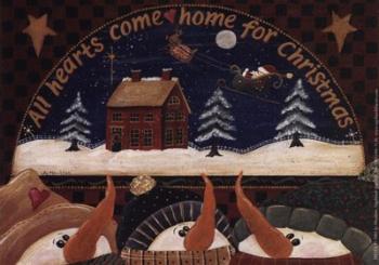 All Hearts Come Home | Obraz na stenu