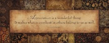 Appreciation | Obraz na stenu