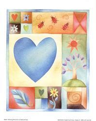 Big Blue Heart | Obraz na stenu