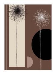 Black and White Dandelions | Obraz na stenu