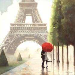 Paris Romance II | Obraz na stenu