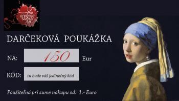 Darčeková poukážka na 150 Eur