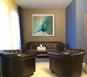Návrh obrazov na jedno miesto v interiéri
