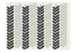 [1613 Flora Noir Leaves]