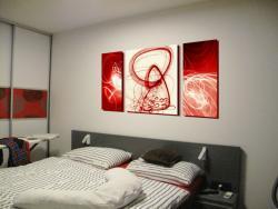 Návrhy obrazov do interieru